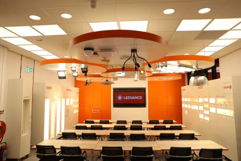 Ledvance – interieur Training Room